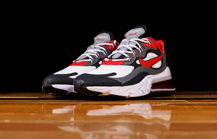 Nike Air Max 270 React Grey Red CI3866-002 03