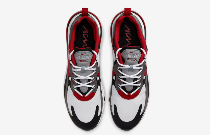 Nike Air Max 270 React Grey Red CI3866-002 06