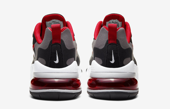 Nike Air Max 270 React Grey Red CI3866-002 07