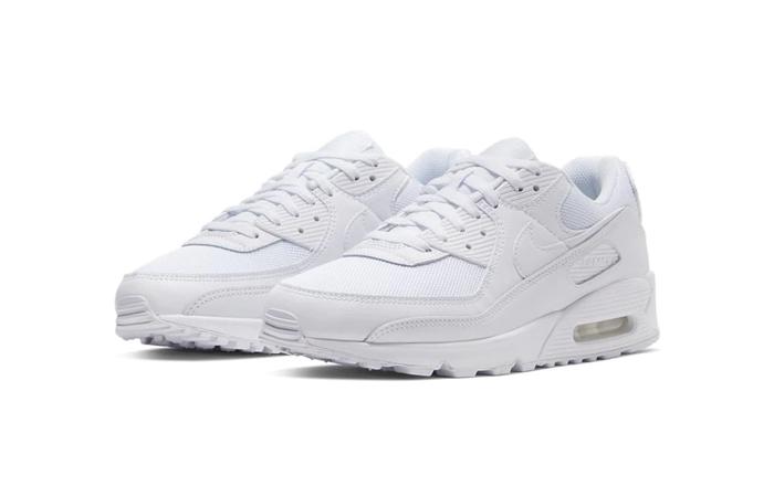 Nike Air Max 90 Clear White CN8490-100 02