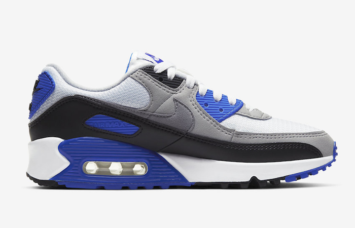 Nike Air Max 90 Grey Royal Blue CD0490-100 03