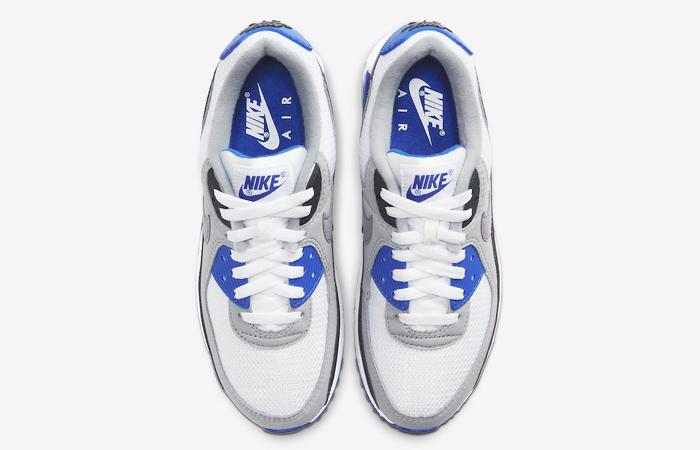 Nike Air Max 90 Grey Royal Blue CD0490-100 04
