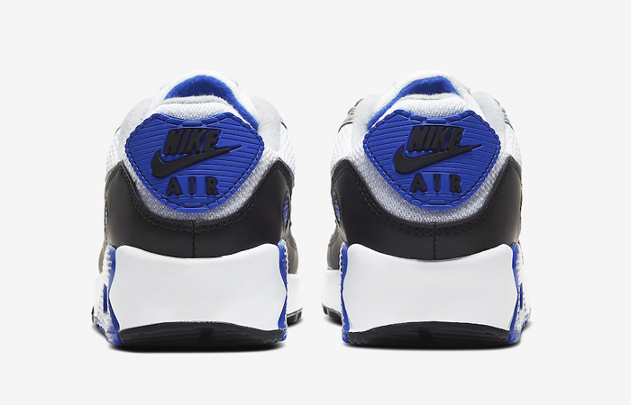 Nike Air Max 90 Grey Royal Blue CD0490-100 05