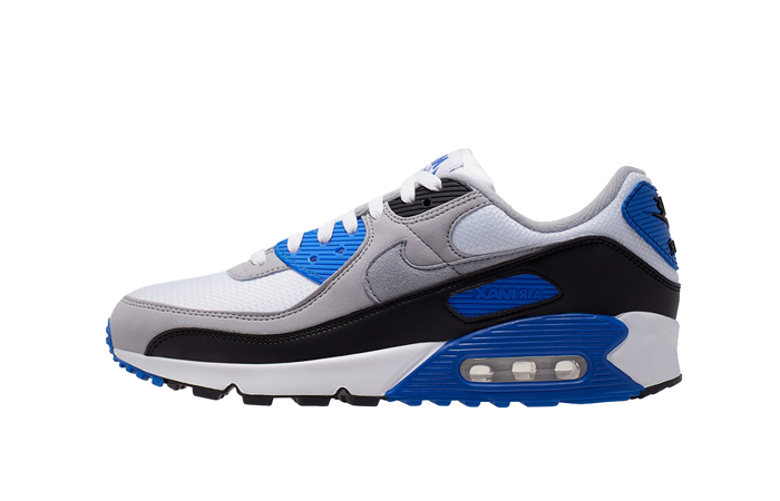 Nike Air Max 90 Grey Royal Blue CD0490-100 01