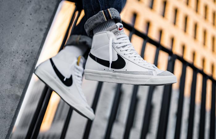 Nike Blazer Mid '77 Vintage Black