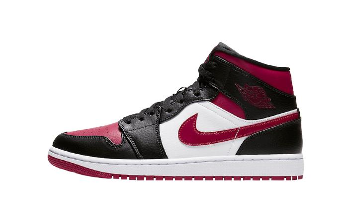 Nike Jordan 1 Mid Bred Toe 554724-066 01