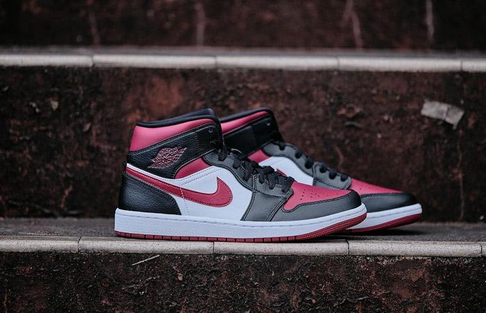 Nike Jordan 1 Mid Bred Toe 554724-066 02