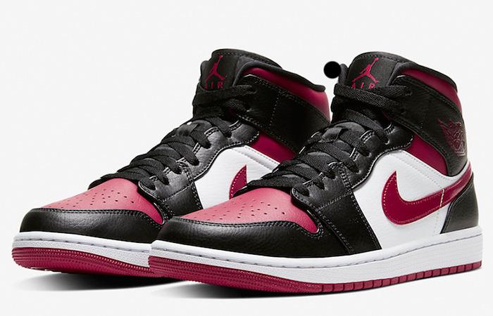 Nike Jordan 1 Mid Bred Toe 554724-066 05