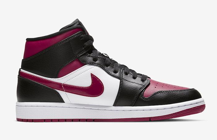 Nike Jordan 1 Mid Bred Toe 554724-066 06
