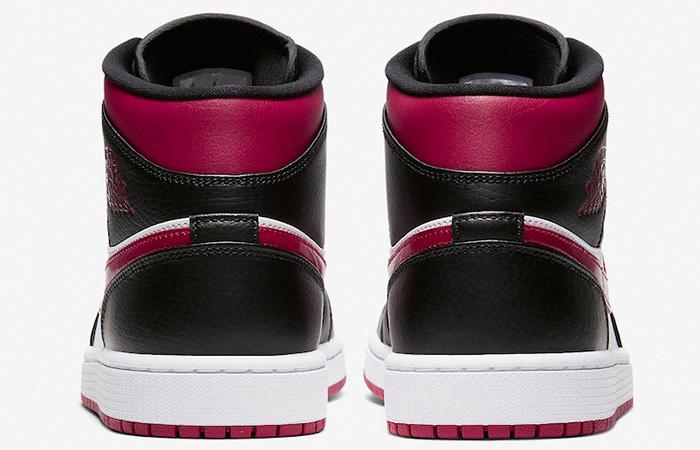 Nike Jordan 1 Mid Bred Toe 554724-066 08