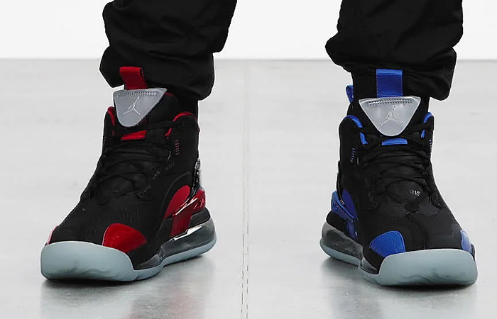 Nike Jordan Aerospace 720 PSG Royal Blue CV8453-001 on foot 01