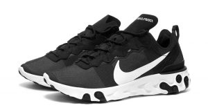 Nike React Element 55 SE Black White Is Only £75 In END. 01