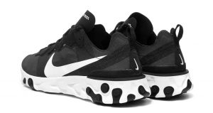 Nike React Element 55 SE Black White Is Only £75 In END. 02