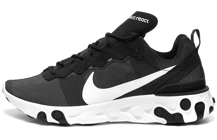 Nike React Element 55 SE Black White Is Only £75 In END. ft