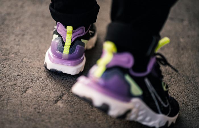 Nike React Vision Purple Black CD4373 002 on foot 03