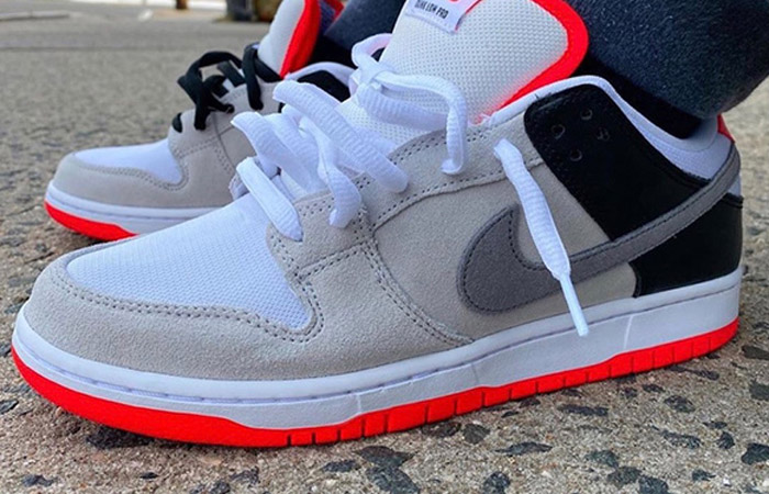 Nike SB Dunk Low Infrared Navy CD2563-004 on foot 01