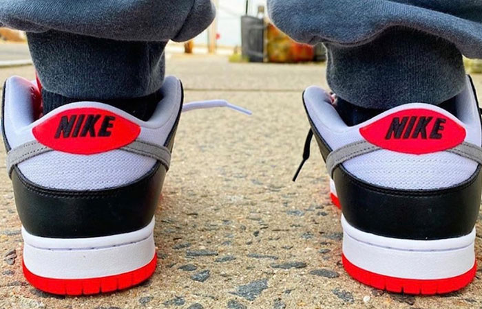Nike SB Dunk Low Infrared Navy CD2563-004 on foot 03