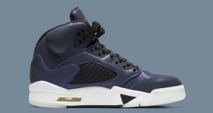 Nike Womens Air Jordan 5 Has Dressed Up With A Reflective Upper 02