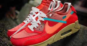 Off-White Nike Air Max 90 University Red Release Date Is Confirmed