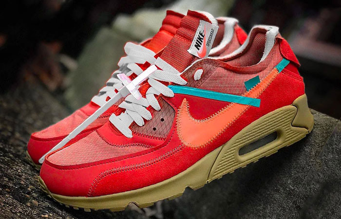 Off-White Nike Air Max 90 University Red Release Date Is Confirmed ft