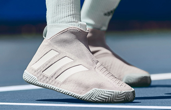 On Foot Look At The adidas Stycon Tennis Shoe ft