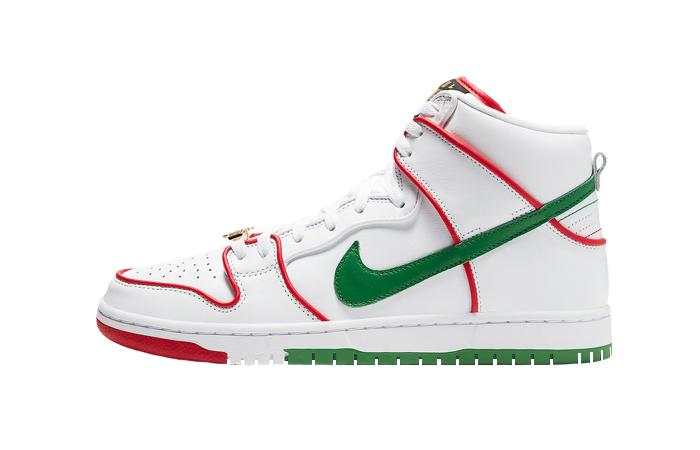Paul Rodriguez Nike SB Dunk High Premium Boxing Gloves CT6680-100 01