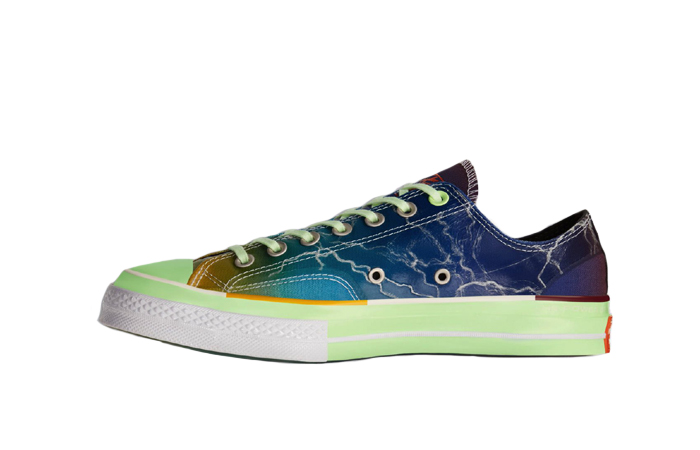 Pigalle Converse Chuck Taylor 70s Ox Blue Multi 165747C 01