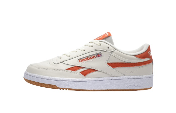 Reebok Club C Revenge White Orange FW3599 01
