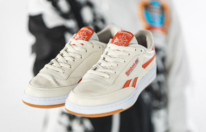 Reebok Club C Revenge White Orange FW3599 03