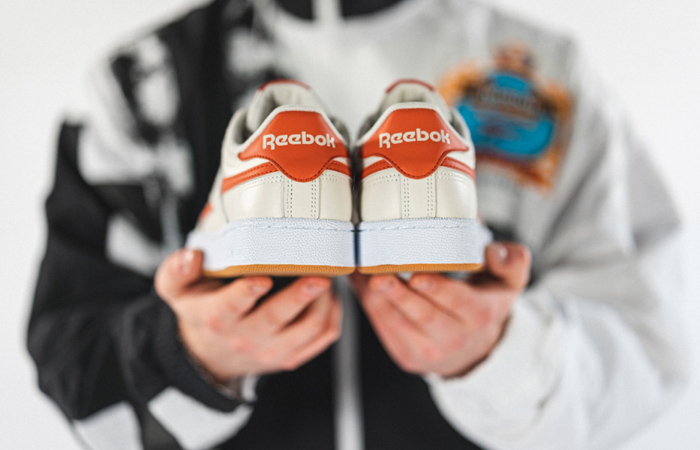 Reebok Club C Revenge White Orange FW3599 04