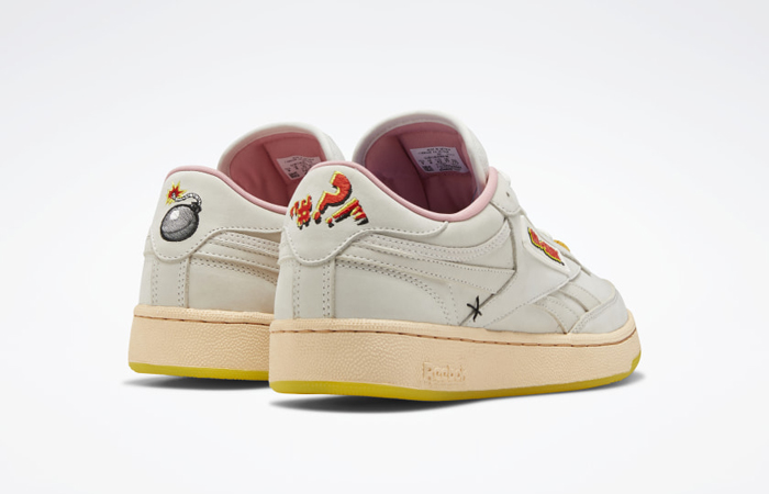 Tom & Jerry Reebok Club C White FW4681 05