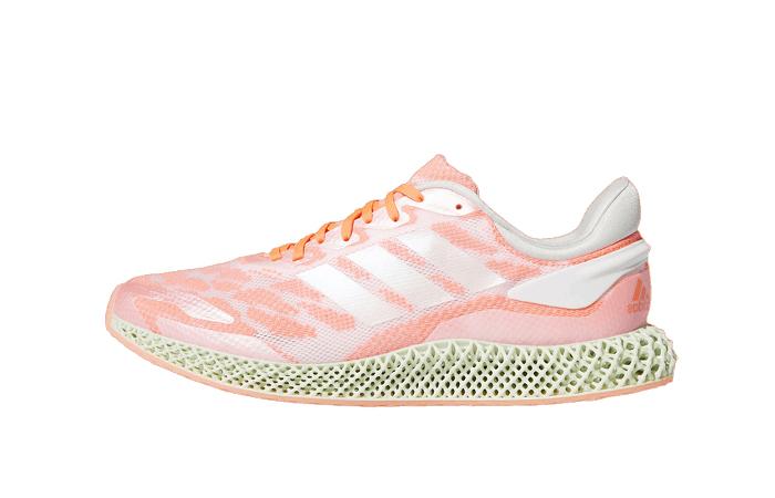 adidas Performance 4D Run 1.0 Pink White FW6838 01