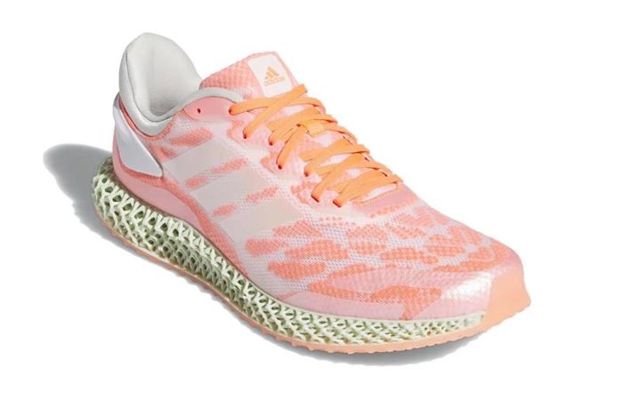 adidas Performance 4D Run 1.0 Pink White FW6838 02