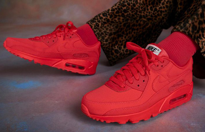 A Futuristic Graphics Can Be Seen In The Nike Air Max 90 By You Pack ft