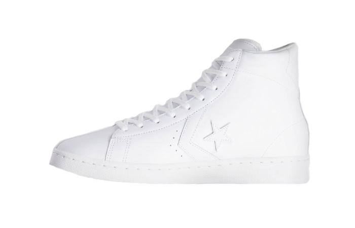 Converse Pro Leather Hi Chalk White 166810C 01