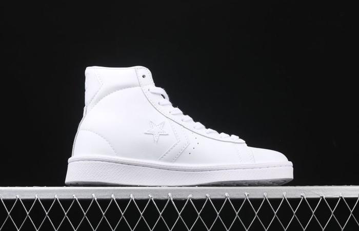 Converse Pro Leather Hi Chalk White 166810C 03