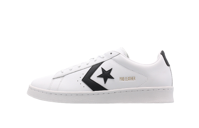 Converse Pro Leather Low Black White 167237C 01