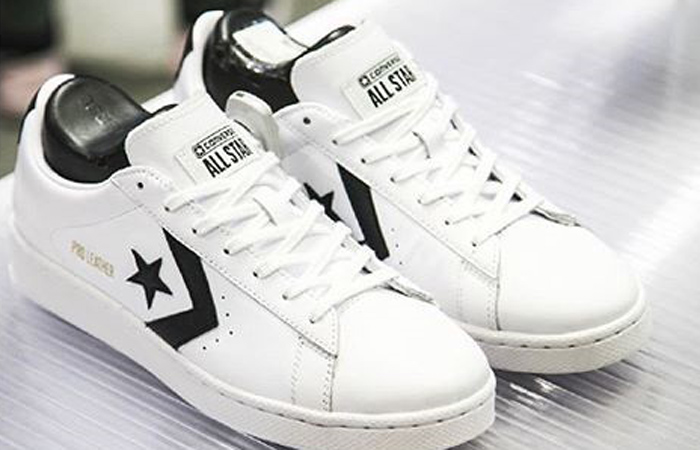 Converse Pro Leather Low Black White 167237C 02