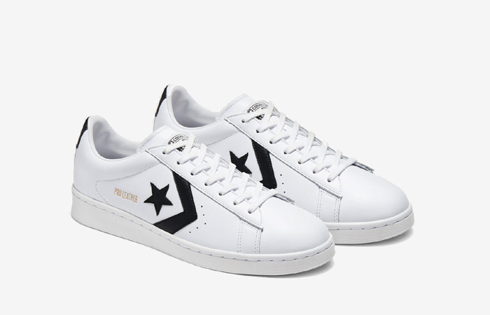 Converse Pro Leather Low Black White 167237C 04