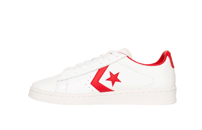 Converse Pro Leather Low Red White