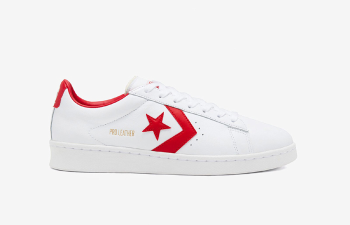 Converse Pro Leather Low Red White 167970C 03