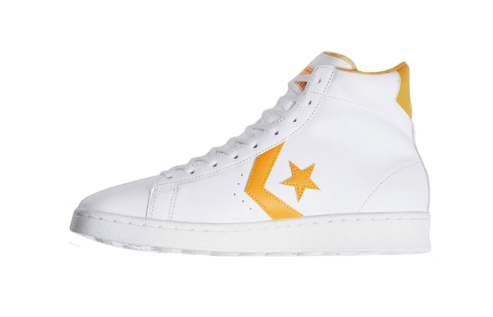 Converse Pro Leather Mid Yellow White 166812C 01
