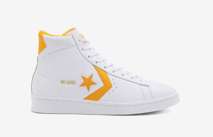 Converse Pro Leather Mid Yellow White 166812C 06