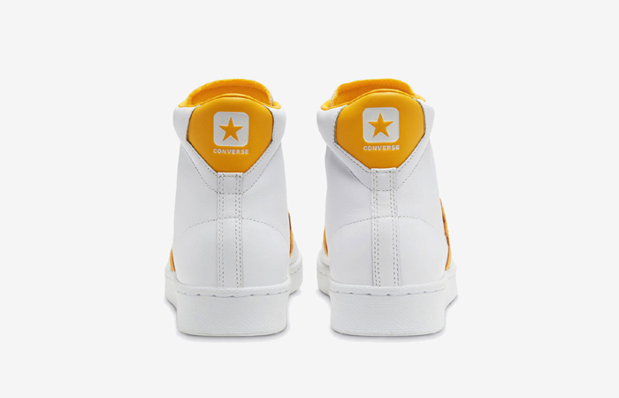 Converse Pro Leather Mid Yellow White 166812C 07