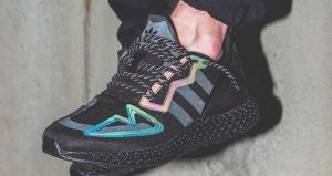 Detailed Look At The adidas ZX 4D Neon Black 01