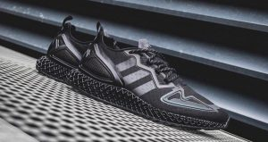 Detailed Look At The adidas ZX 4D Neon Black