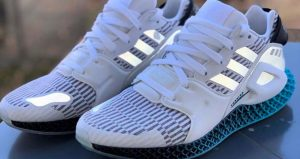 Have A Glimpse Of Look At The adidas Morph 4D Sky White