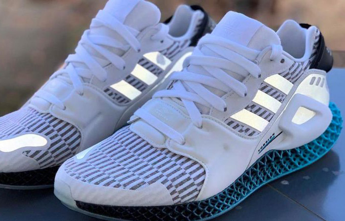 Have A Glimpse Of Look At The adidas Morph 4D Sky White ft