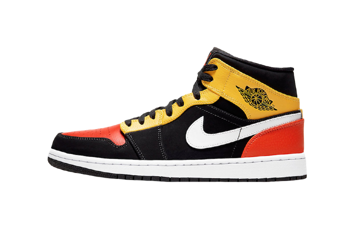 Jordan 1 Mid Amarillo Orange 852542-087 01