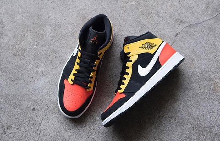 Jordan 1 Mid Amarillo Orange 852542-087 04